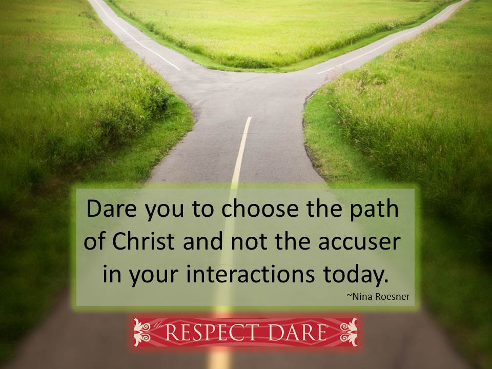 way of the accuser vs Christ
