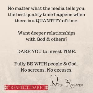 Got Friends? Dare 6 of the new dare journey…