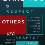 Self Respect WHILE Respecting Others